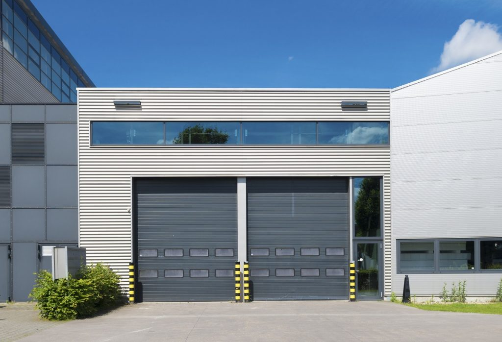 Commercial building roller shutter