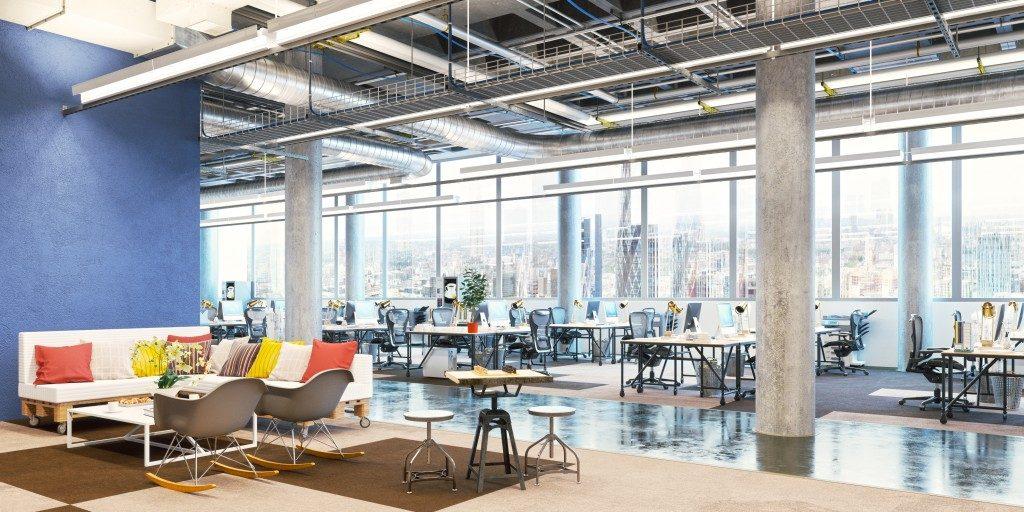 A modern office design