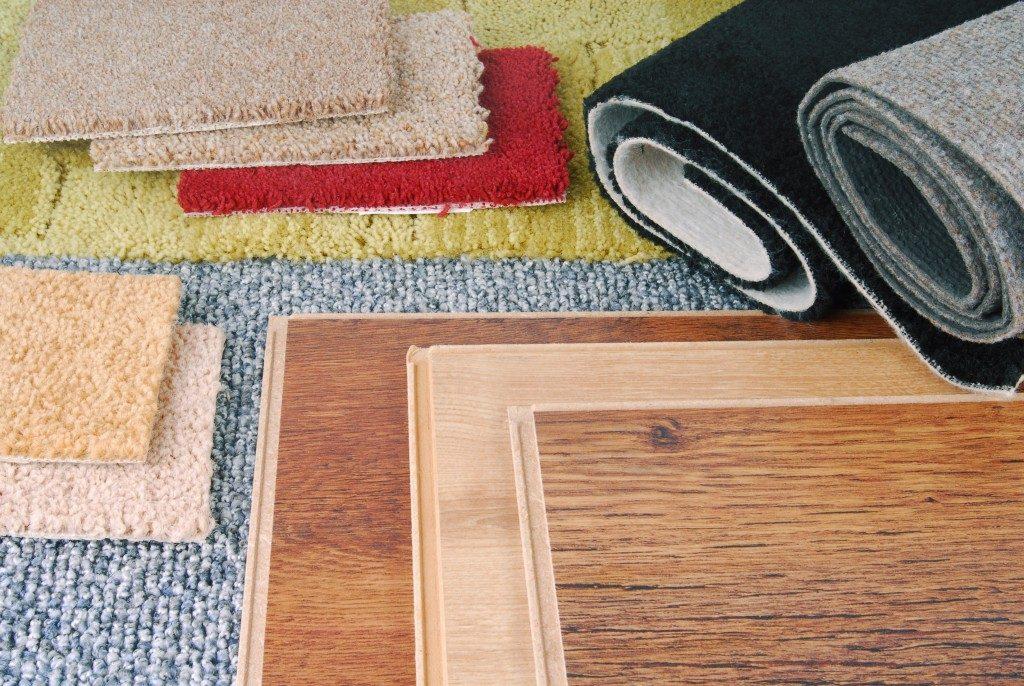 fabric flooring