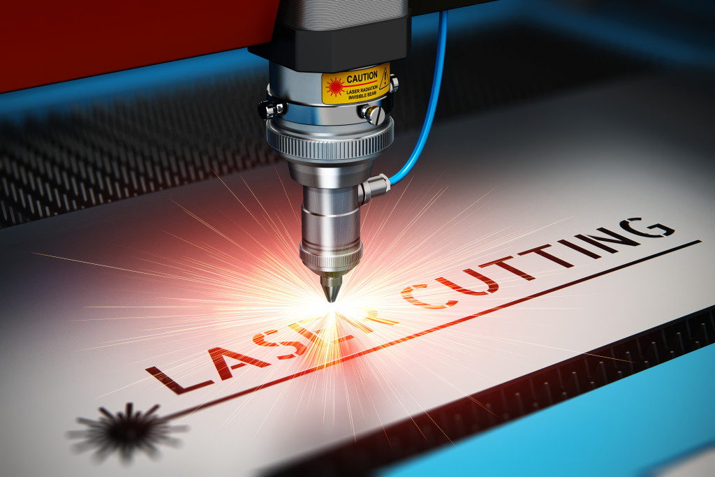 Laser cutting concept
