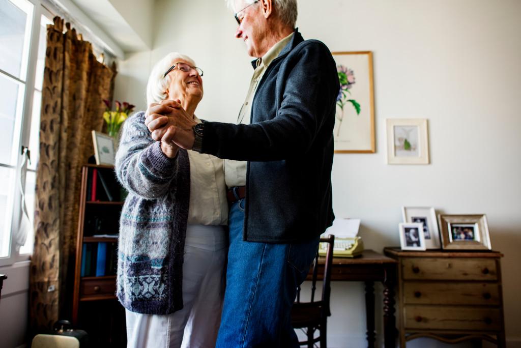 Elderly retirees