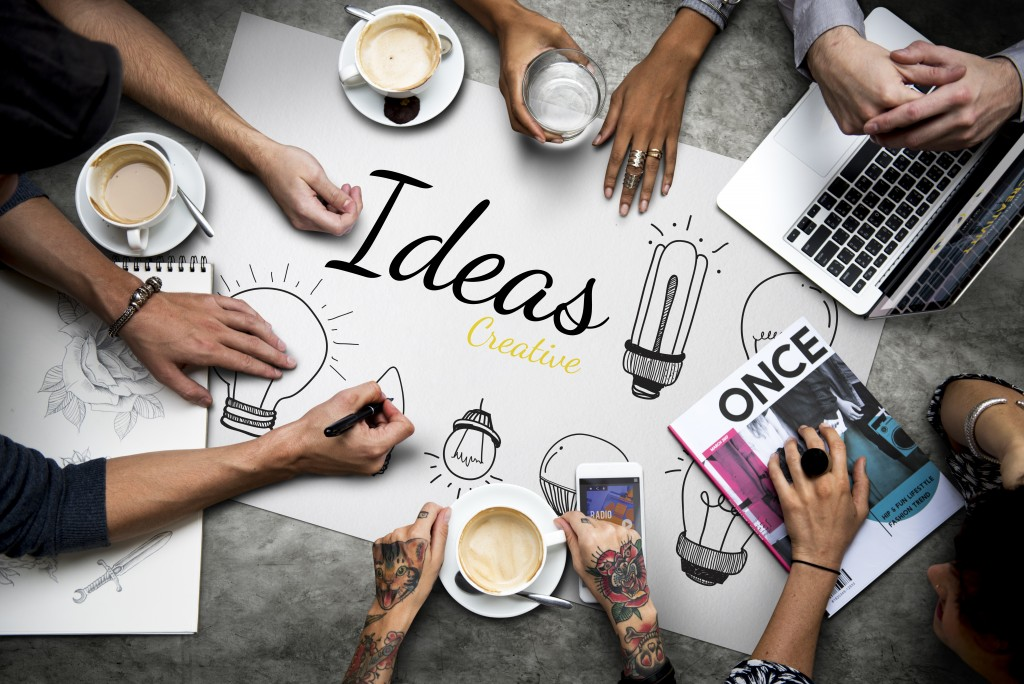 idea on paper